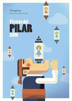 La polémica con el cartel de Fiestas del Pilar, 2016, un año más