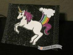 Unicorns Fart Rainbows Card