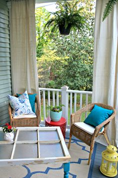 Back Porch Ideas That Will Add Value U0026 Appeal To Your Home. Outdoor CurtainsPorch  ...