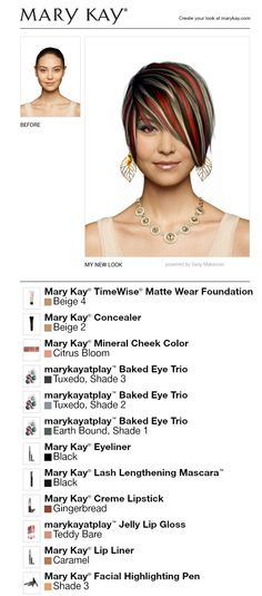 113 Best Mary Kay Makeover App Game Images On Pinterest Hair