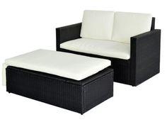 960-POLY-RATTAN-Lounge-schwarz-Sofa-Garnitur-Polyrattan-Sitzgruppe-Gartenmoebel
