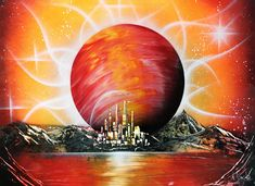 Space art Planet painting Planet wall art Abstract Wall Art Orange Picture Orange painting Planet wall decor Celestial Art Original Abstract – Skin Care Tips Contemporary Abstract Art, Abstract Wall Art, Painting Abstract, Modern Art, Painting Art, Paintings, Spray Paint Artwork, Planet Painting, Orange Painting