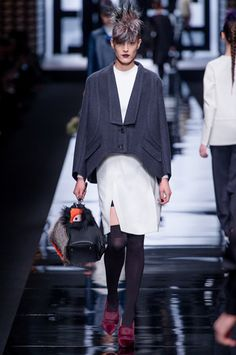 Fendi Fall 2013 Ready-to-Wear Collection Slideshow on Style.com (=)