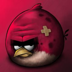 Angry Birds depois de um dia de trabalho: