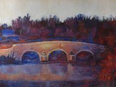 commission - Milton ferry bridge - visit http://www.karenjanegreen.com/apps/webstore/ for similar artwork