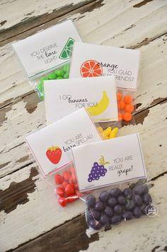 Fruity valentines #freeprintable