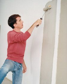 Pointer for choosing interior paint