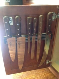 Best 10 Ideas For Storing Your Kitchen Knives Safely | Kitchen Knives,  Knives And Kitchens
