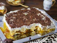 Bananowa pianka bez pieczenia - Przepis - WP Kuchnia Tiramisu, Ethnic Recipes, Food, Crochet, Eten, Chrochet, Crocheting, Tiramisu Cake, Meals