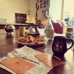 Bonjour :) breakfast @Atelier de la Main Gauche