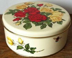 Lovely old plate box