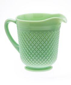 This Mosser Glass Jade Addison Pitcher by Mosser Glass is perfect! #zulilyfinds