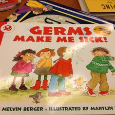 Health and science: germs (teaching about hand washing)