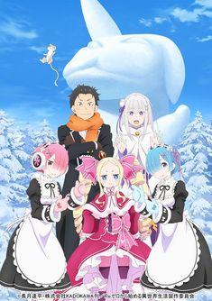 All Anime, Anime Chibi, Anime Love, Manga Anime, Anime Art, Re Zero Wallpaper, Anime Sisters, Manga Covers, Anime Angel