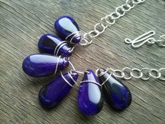 ARTISAN SILVER HANDWORKED  necklace wire wrapped by magyartist, $56.90