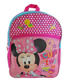 Look at this #zulilyfind! Minnie Mouse Cargo Backpack by Disney #zulilyfinds