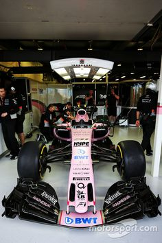 Sahara Force India F1 VJM10 of Esteban Ocon