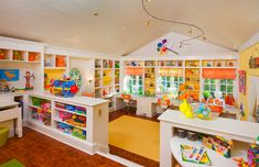 Now this is a kid's playroom.