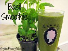 Basil Smoothie Recipe