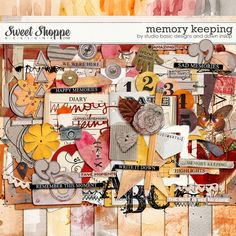 Memory Keeping: Kit by Studio Basic and Dawn Inskip