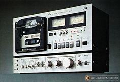 JVC Elcaset LD 777 Audio Recorder. 1978.