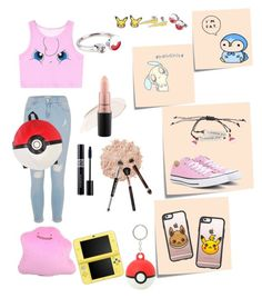 """Another Day In The Life Of A Pokémon Trainer"" by jellokat456 ❤ liked on Polyvore featuring River Island, Post-It, Converse, Nintendo, Casetify, La Mer, Christian Dior, Stila, Hourglass Cosmetics and MAC Cosmetics"
