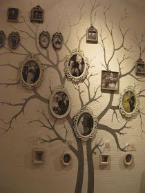 36 ideen f r originelle aufkleber collagen aus fotos stammbaum stammbaum pinterest. Black Bedroom Furniture Sets. Home Design Ideas