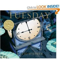 Wordless picture book for teaching inferences.  Love the flying frogs! (Amazon Affiliate)