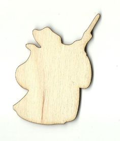 Fairy God Mother - Laser Cut Wood Shape DSY137