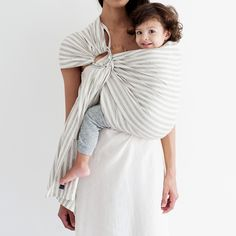 Generap Public Goods striped baby sling.