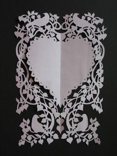 Paper cuttings (img heavy) - PAPER CRAFTS, SCRAPBOOKING & ATCs (ARTIST TRADING CARDS)