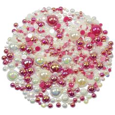 This embellishment pack contains a luscious mixture of rhinestones and pearls in tones of pink and cream The sparkly gems range in size from to Nail Decorations, Ornament Wreath, Embellishments, Raspberry, Card Making, Packing, Gems, Range