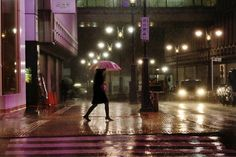 Feminine Silhouette Under the Rain by Christophe Jacrot. #photography #cytiscape #silhouette #rain #christophejacrot