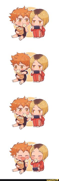 Hinata and kenma's friendship is so cute