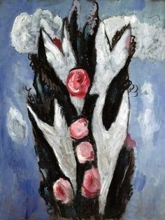 Marsden Hartley >> Roses