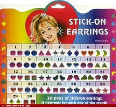 I had these once when I was little....ended up in the ER cause one got stuck IN my ear!