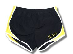 Running Shorts - Embroidered Letters | Kappa Alpha Theta #theta1870