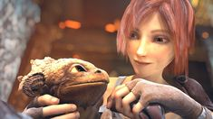 "Please watch this epic animation short film ""Sintel"", takes place in a fantasy world, where a girl befriends a baby dragon. After the little dragon is tak. Sean Connery, Animation 3d, Animation Movies, The Final Movie, Science Fiction, Netflix Gift, Dog Food Brands, Film D'animation, Like4like"