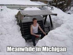 Just another day in Michigan