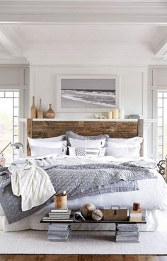 Simple and Stylish Tips Can Change Your Life: Natural Home Decor Small Spaces simple natural home decor wall colors.Natural Home Decor Bedroom Woods natural home decor diy front doors.Natural Home Decor Bedroom Simple. Modern Farmhouse Bedroom, Modern Bedroom, Bedroom Rustic, Farmhouse Style, Silver Bedroom, Rustic Farmhouse, Rustic Style, Modern Rustic, Farmhouse Ideas