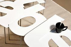 Design d'objet table
