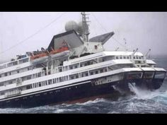 This Dec. 2010 photo shows the Antarctic tourist ship the 'Clelia II' struggling in high seas with 165 people aboard in the southern Drake Passage, just north of the Shetland Islands. Sea State, Drake Passage, Giant Waves, Devon Coast, Riders On The Storm, Fishing Vessel, Abandoned Ships, Merchant Navy, North Sea
