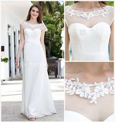 Lanting Bride® Linha A Pequeno / Tamanhos Grandes Vestido de Noiva - Clássico e atemporal / Glamouroso e Dramático Renda FloralCauda de 788845 2016 por R$304,17