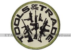 ROTHCO Tools of the Trade Rifle Pistol Combat USA Military Army Morale Patch