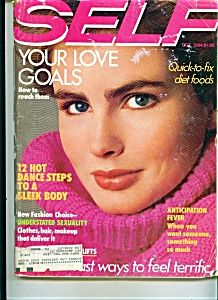 October 1984 cover with Alexa Singer