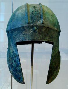 "Greek ""Illyrian type"" bronze helmet from Argolis (6th–5th centuries BC)"