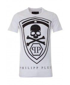 Philipp Plein - 'Honour' T Shirt White