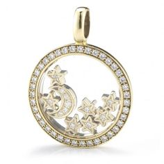 Chopard 18KY Moon and Stars Diamond Enhancer