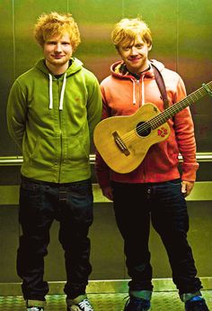 Saw Ed Sheeran open for and sing a duet with Taylor Swift on her RED TOUR. I REALLY wanted to go up to him and say 'Hey I've heard of you! You're the guy in Rupert Grint's music video, right?', just to see the look on his face!!! (Not to mention that's ACTUALLY how I recognized him!!!   ;-P)