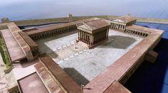 El recinto de culto de Tarraco - ingeniería romana